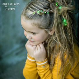 Ibiza Hairlights - Green