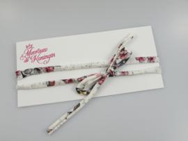 Haarbandjes strik bloemenprint