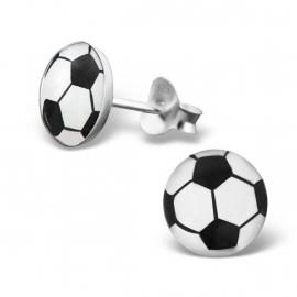 Kinderoorbellen Sterling zilver 925 Voetbal