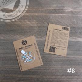 Braid Pearls - IJsblauw