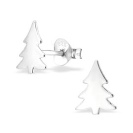 Kinderoorbellen Sterling zilver 925 Kerstboom