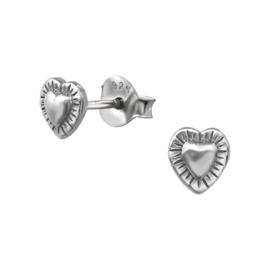 Oorbellen Sterling zilver 925 Hart