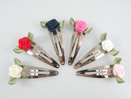 Haarspeldjes met roosjes