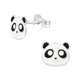 Kinderoorbellen Sterling zilver 925 Panda