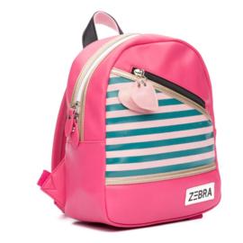 Zebra rugzakje - Holidays - Pink (S)