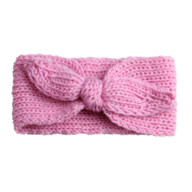 Haarbandjes gebreid roze