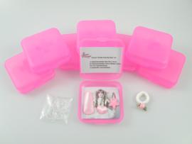 """""""Eerste Hulp Bij Haar"""" kit Lief roze"""