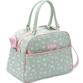 Zebra kidsbag - Forest Green (L)
