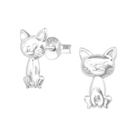 Kinderoorbellen Sterling zilver 925 Kat