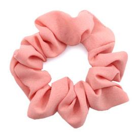 Haarelastiekjes scrunchie vintage pink