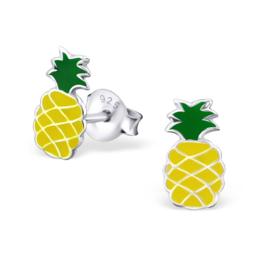 Kinderoorbellen Sterling zilver 925 Ananas