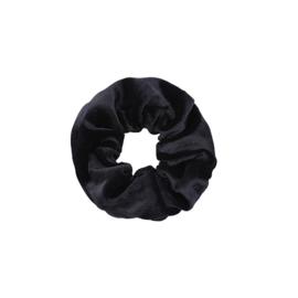 Haarelastiekjes velvet scrunchie zwart