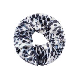 Haarelastiekjes velvet scrunchie snake