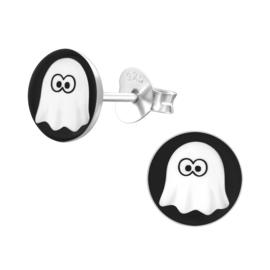 Kinderoorbellen Sterling zilver 925 Spook