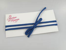 Haarbandjes strik marineblauw