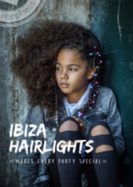 Ibiza Hairlights - Pink/blue