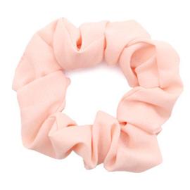 Haarelastiekjes scrunchie salmon pink