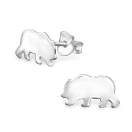 Kinderoorbellen Sterling zilver 925 IJsberen