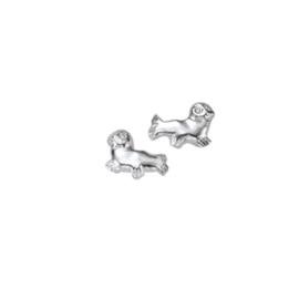 Kinderoorbellen Sterling zilver 925 Zeehond