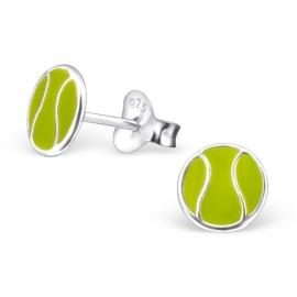 Kinderoorbellen Sterling zilver 925 Tennisballen