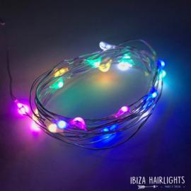 Ibiza Hairlights - Multi color