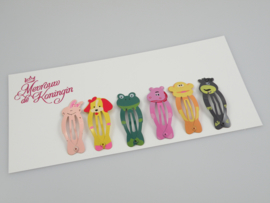 Haarspeldjes basic 5cm Animal