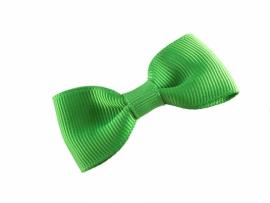 Lokknipjes kleine strik lint groen