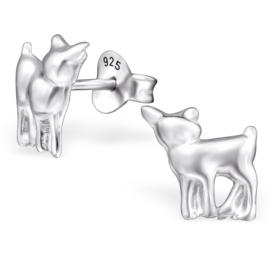 Kinderoorbellen Sterling zilver 925 Hert
