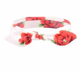 Haarband knoop bloem