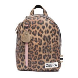 Zebra rugzakje - Leo Camel Pink (S)