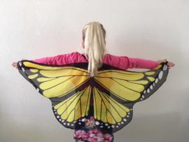 Vleugels vlinder geel