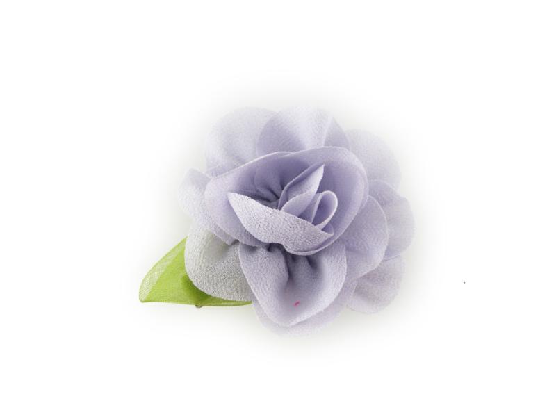 Haarbloem met blaadje lavendel