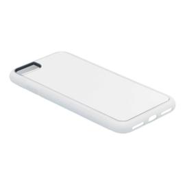 Apple iPhone 7 / 8 Sublimatie Telefoonhoesje Wit - Rubber