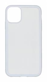 Apple iPhone 11 Sublimatie Telefoonhoesje - Rubber Wit