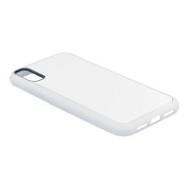 Apple iPhone XR Sublimatie Telefoonhoesje - Rubber Wit