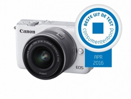 Canon EOS M10  + 15 - 45 mm IS STM wit