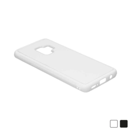 Samsung Galaxy S9 Sublimatie Telefoonhoesje - Rubber Wit
