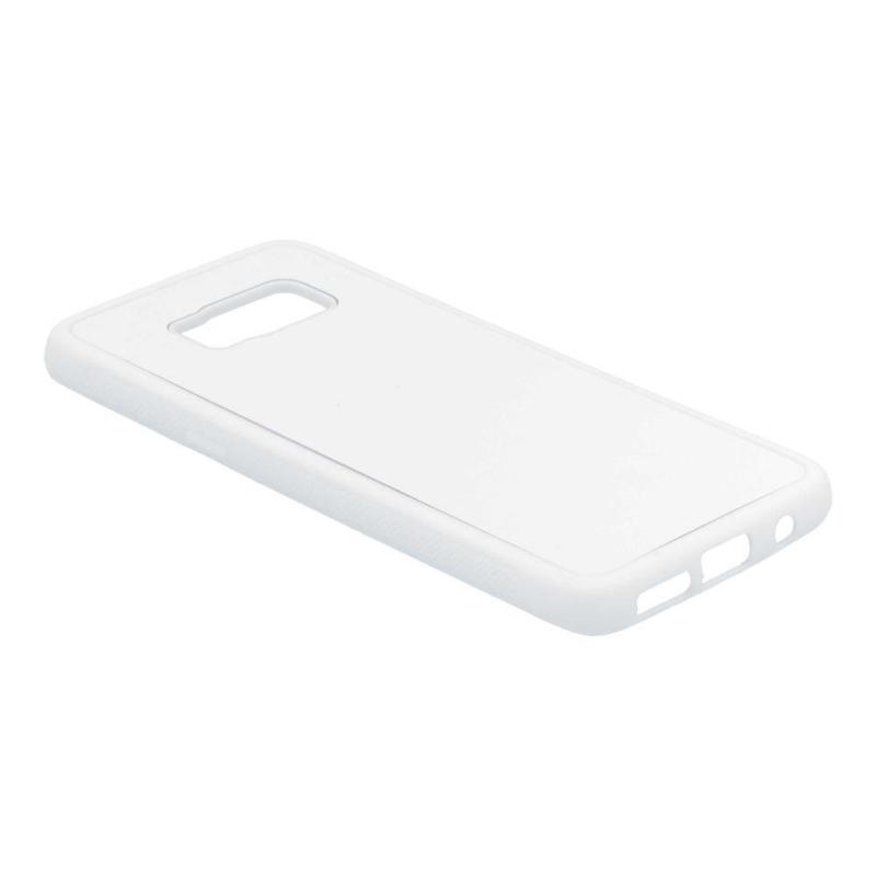 Samsung Galaxy S8 Sublimatie Telefoonhoesje - Rubber Wit