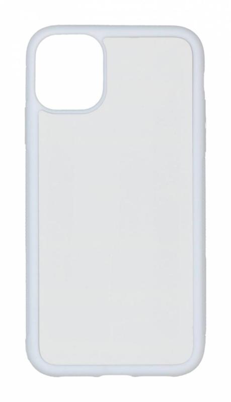 Apple iPhone 11 Sublimatie Telefoonhoesje - Rubber Wit