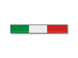 ITALIE STICKER  75x12mm 2 stuks