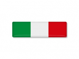 ITALIE STICKER  70x20mm