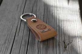 Alfa Romeo Schlüsselanhänger aus Leder