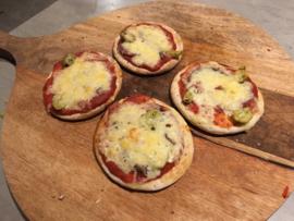 Minipizza voor Pizzarette