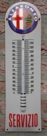 THERMOMETER ALFA ROMEO 12x43 cm