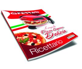 "PIZZAOVEN G3FERRARI ""DELIZIA"" Black + Alu pizzaspatels"