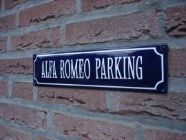 ALFA ROMEO PARKING
