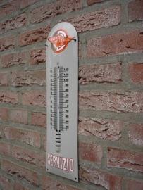 THERMOMETER DUCATI SERVIZIO  12x43cm