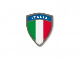 ITALIE STICKER SQUADRA 35x45mm 1 stuks