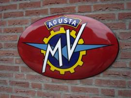 MV AUGUSTA 80x50cm ovaal