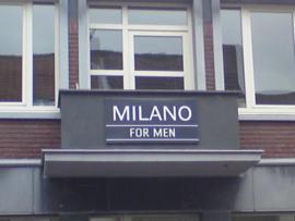 Emaille straatnaambord met uw eigen tekst
